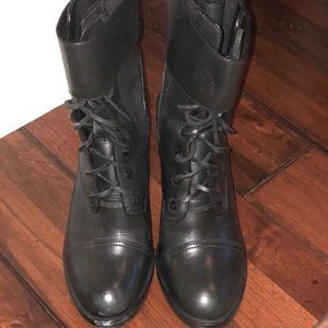 Tory Burch combat boots